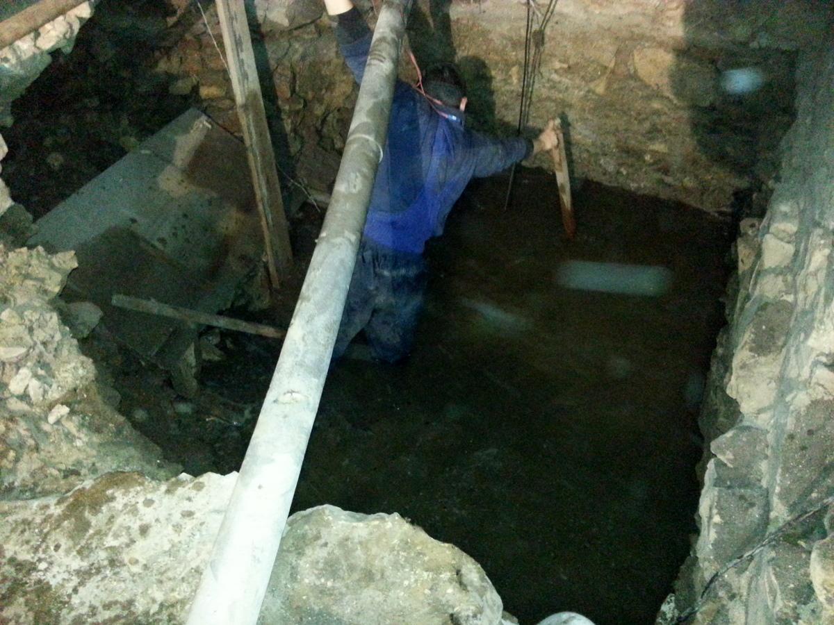 Voda ve sklepení