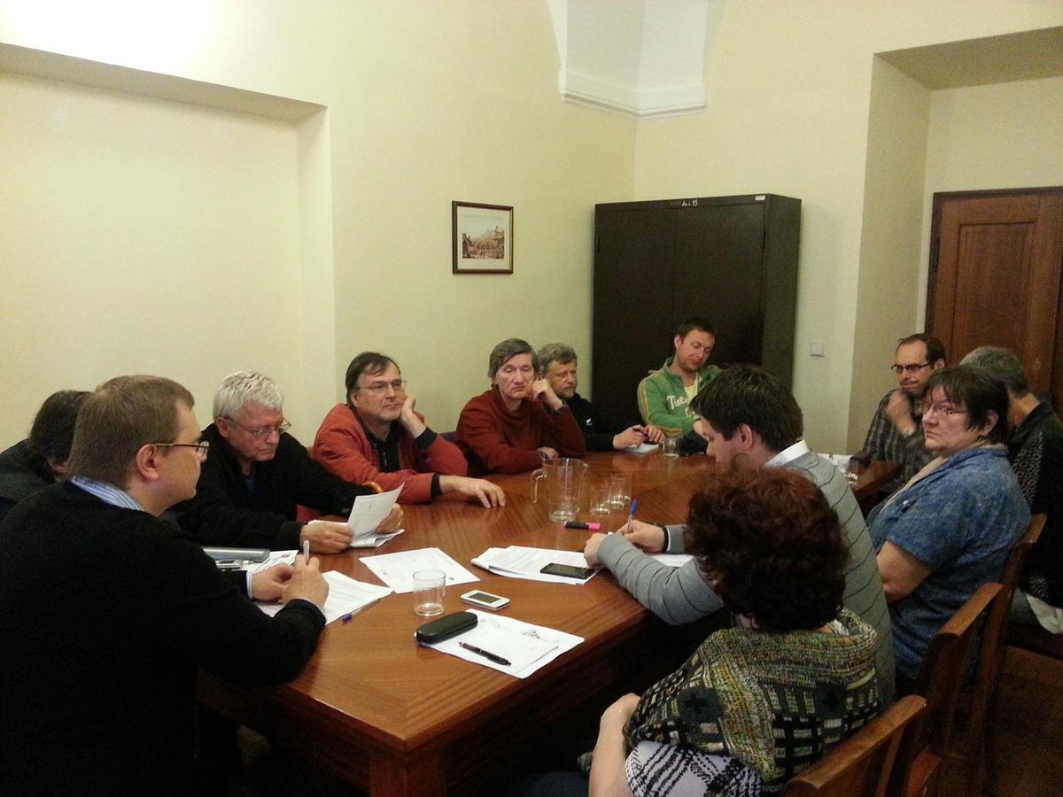 První zasedání povodňové komise