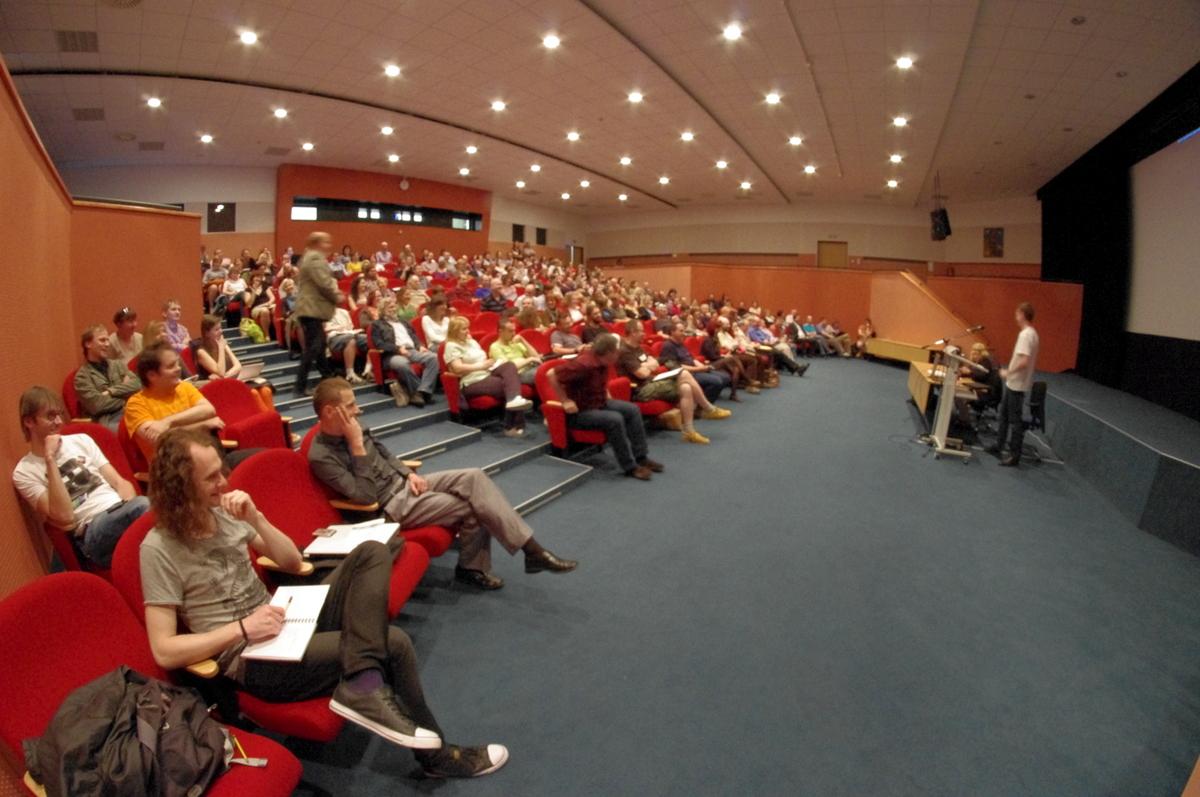 Konferenční sál Národního archivu