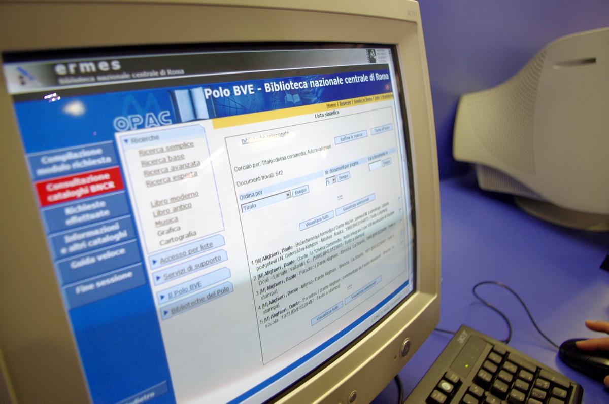 Elektronický OPAC