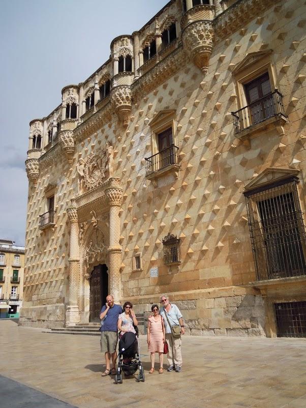 Palác Del Infantado, původní budova knihovny