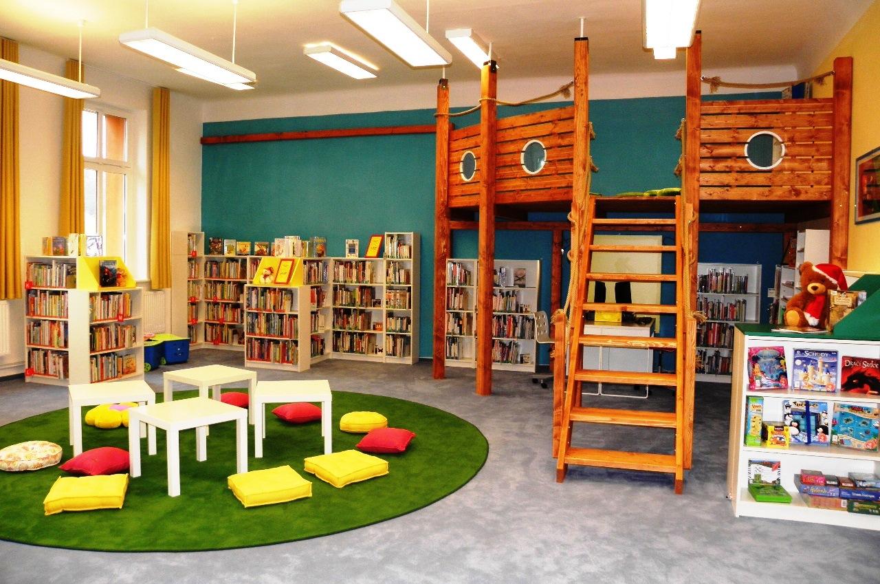 Knihovna po rekonstrukci