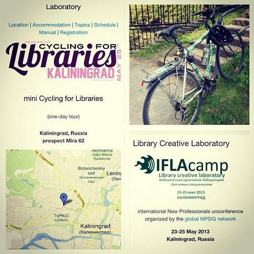 Pozvánka na Cycling for Libraries in Kaliningrad