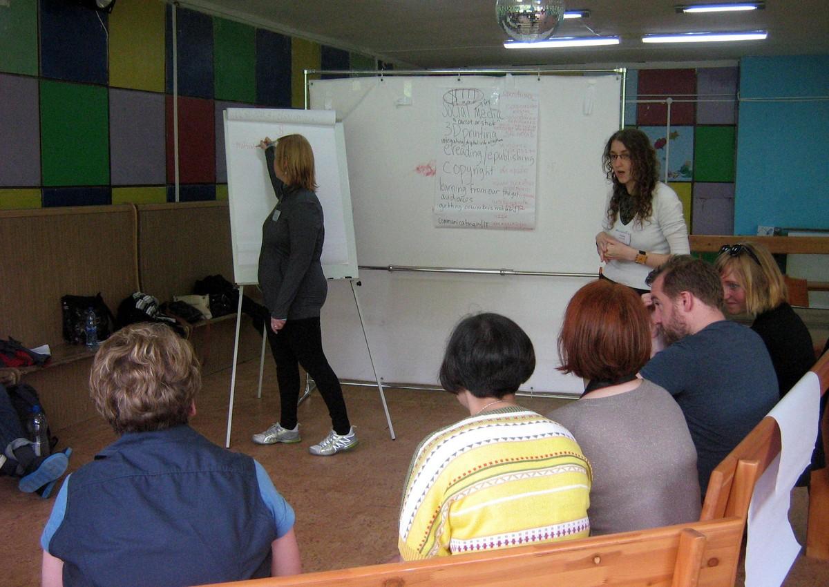 Práce ve skupině a prezentování závěrů