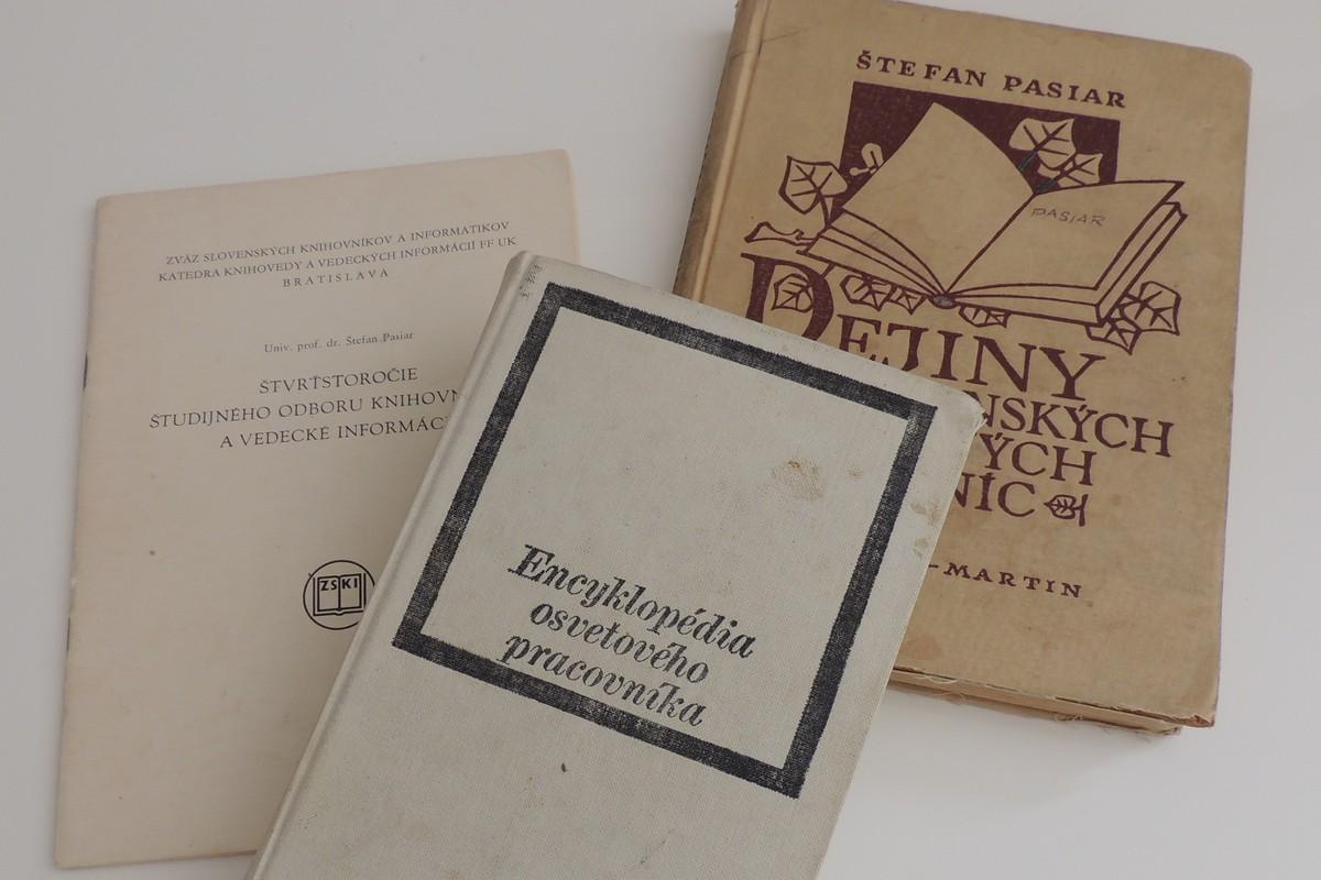 Vybrané publikácie prof. Pasiara