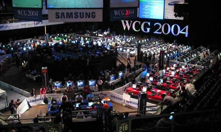 WCG neboli World Cyber Games 2004