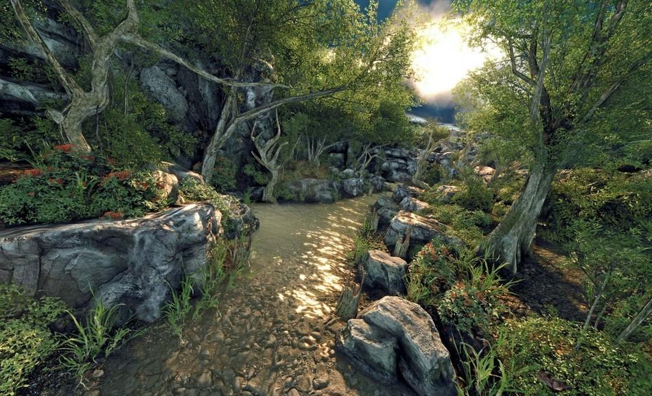 Ukázka fotorealistické grafiky ve hře Crysis Warhead