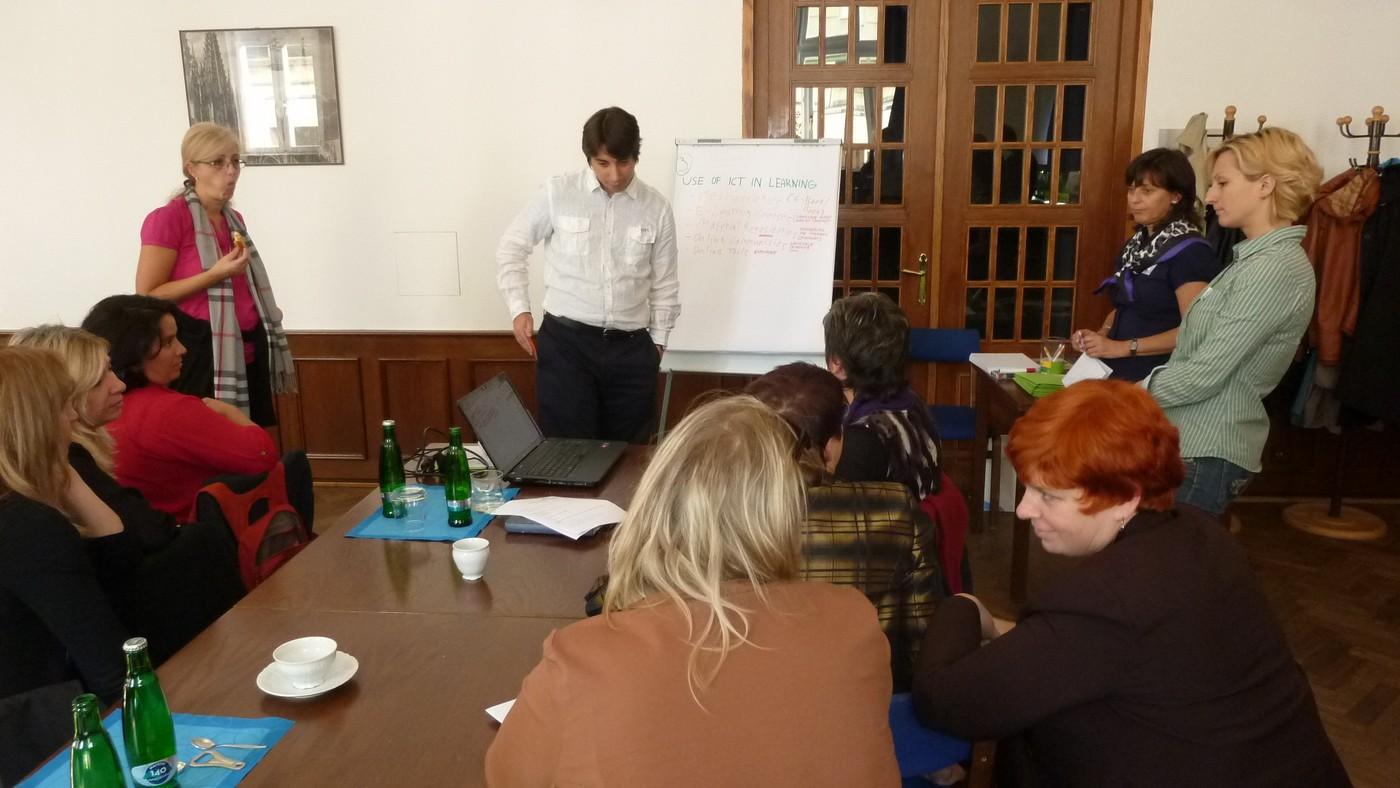 Průběh odpoledního workshopu