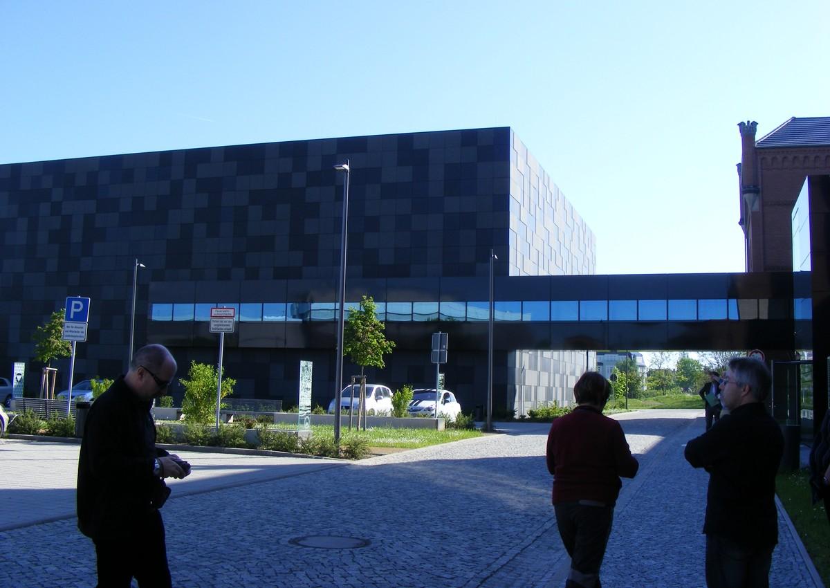 Takto vypadá nová budova depozitářů Landesarchivu v Magdeburgu