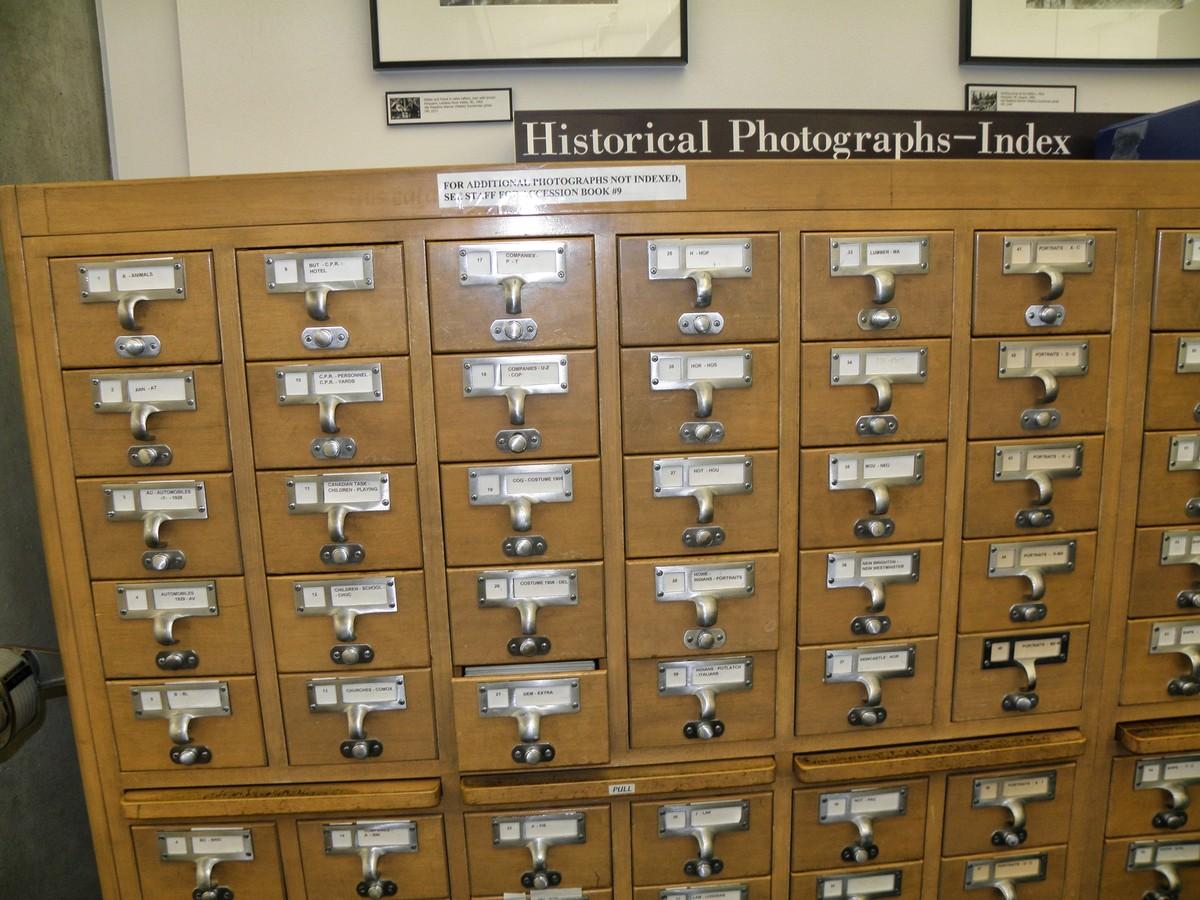 Katalog historických fotografií