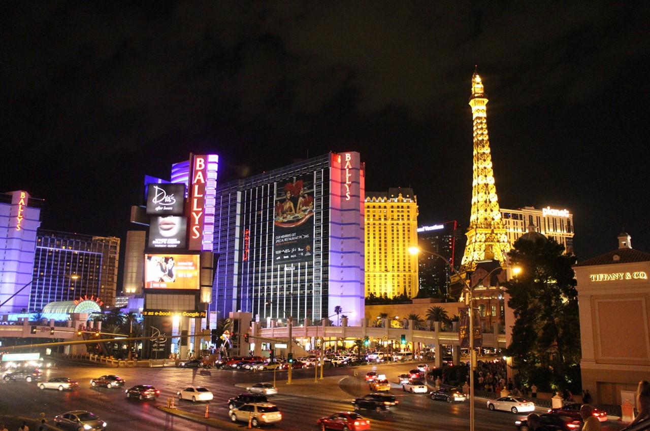 Noční Las Vegas Boulevard