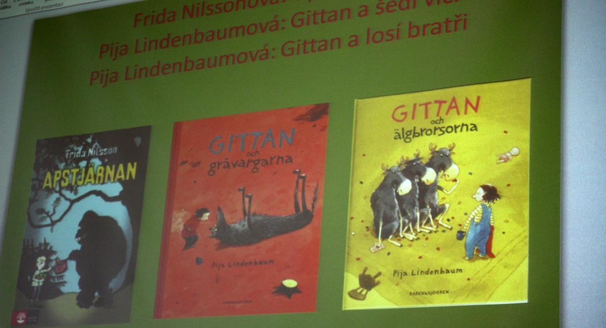 Knihy od švédských autorek, o kterých hovořila Viola Somogyi