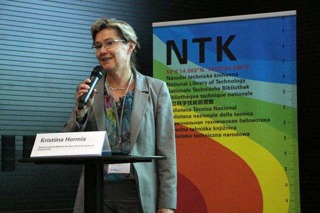 Kristiina Hormia-Poutanen z Finské národní knihovny