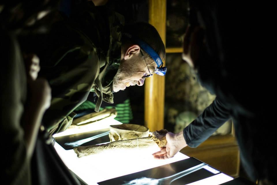Noční prohlídka v Hrdličkově muzeu člověka