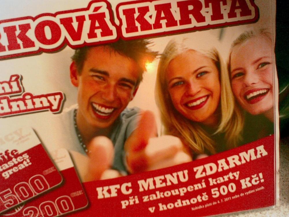 Karta do KFC