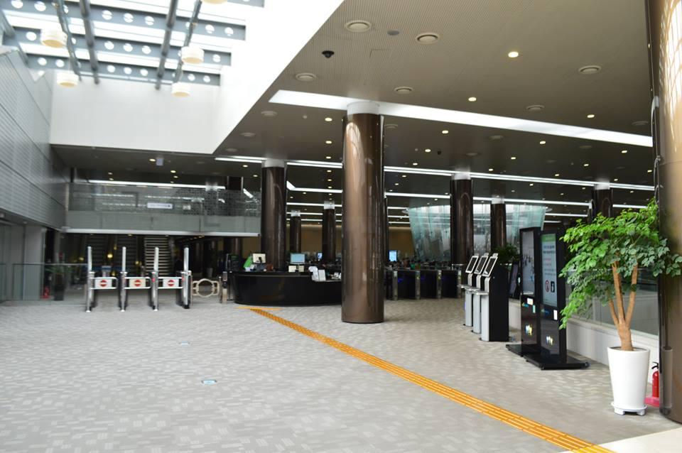 Interiér Korejské národní digitální knihovny