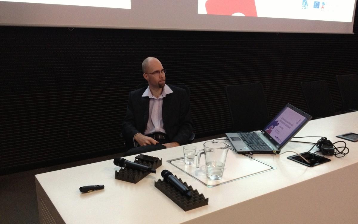 Jakub Štogr hovoří o nových trendech v oblasti neformálního vzdělávání