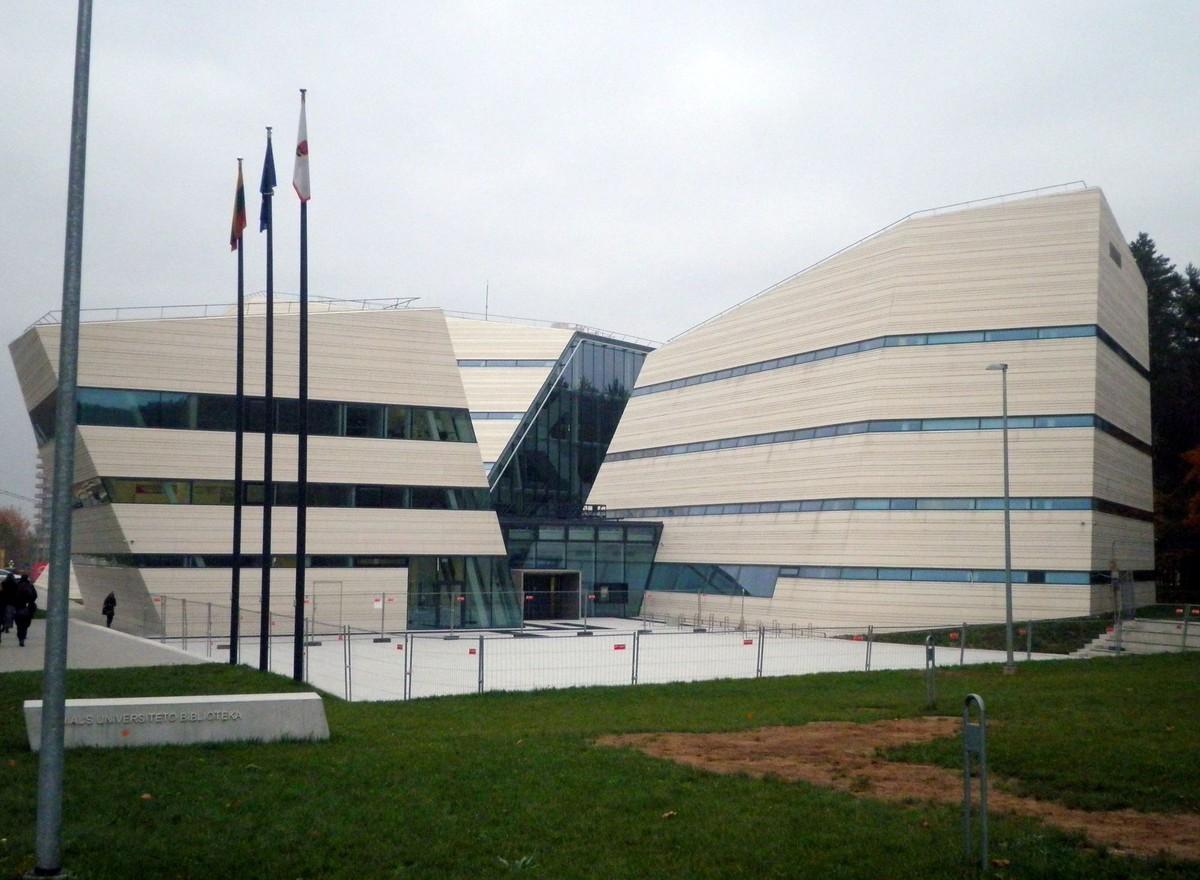 Budova nové knihovny