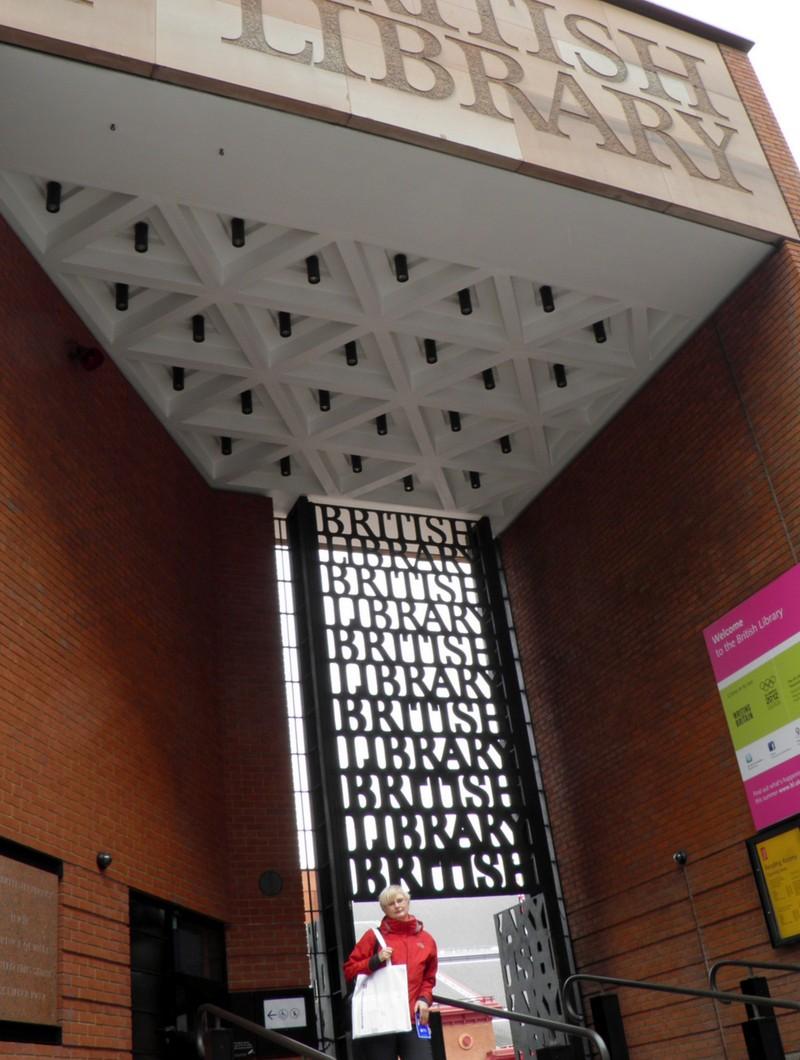 Hlavní vstup do British Library