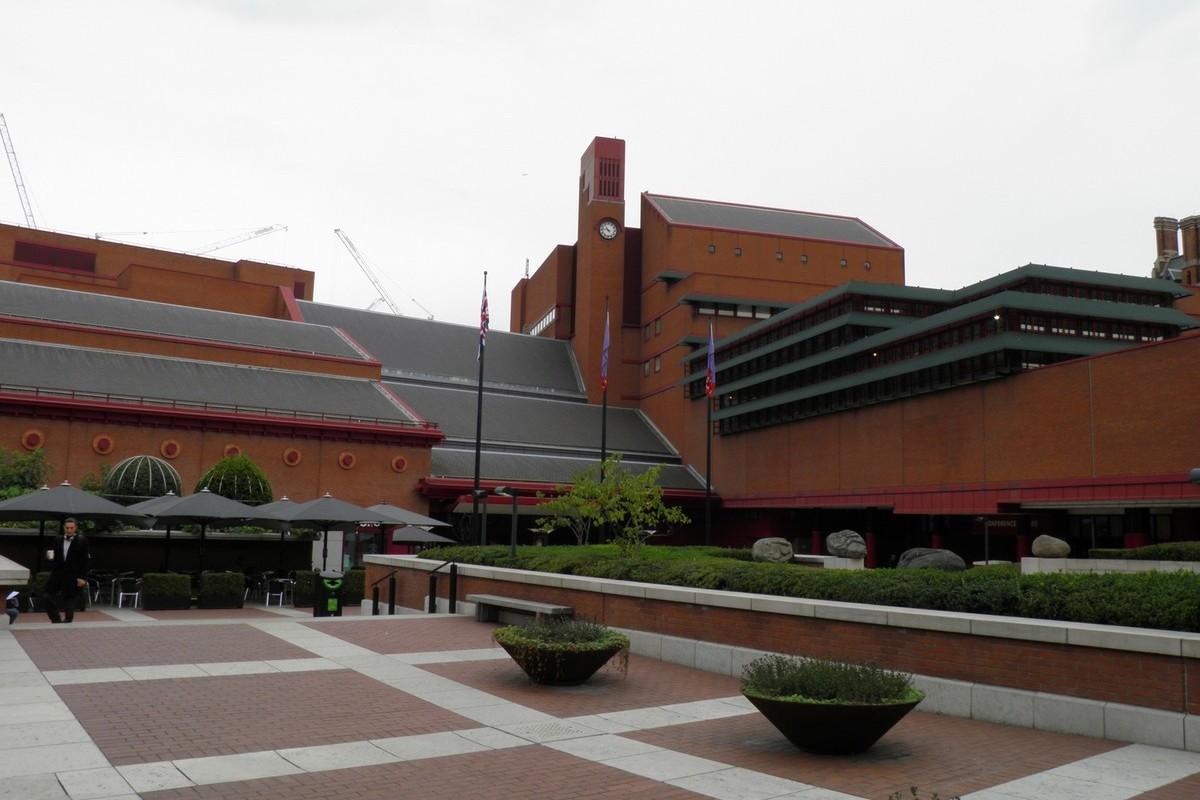 British Library na Euston Road