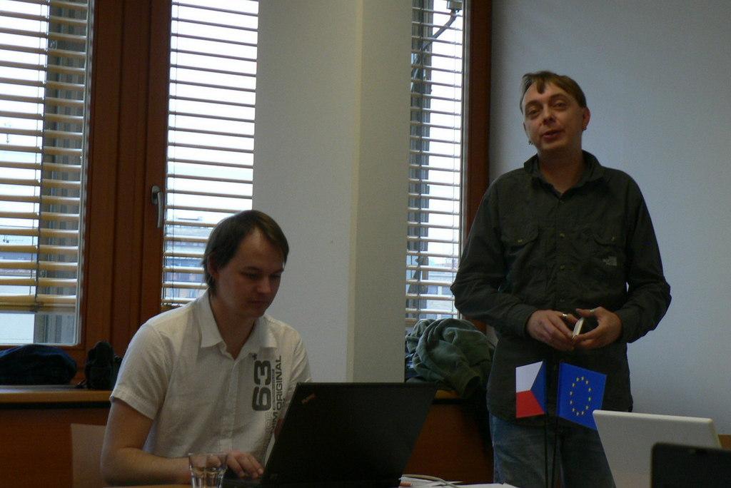 Josef Moravec a Michal Denár