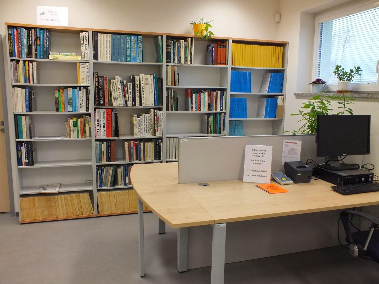Nově zrekonstruované prostory Rybářské knihovny