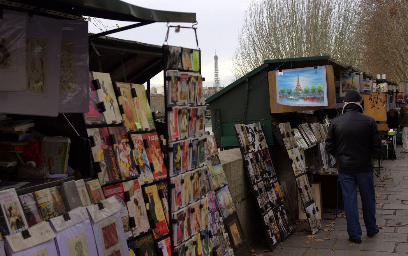 Paříž je mimo jiné i město umění a knih