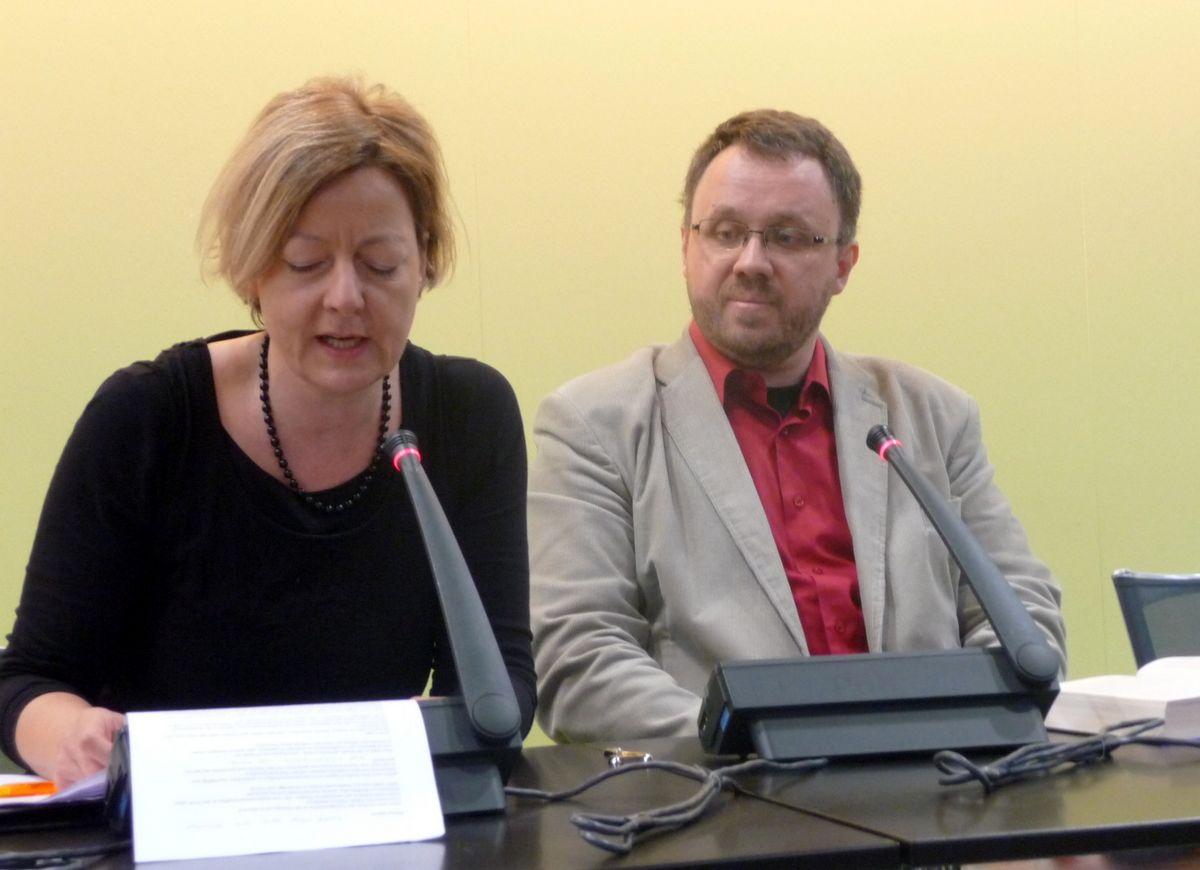 Christina Frankenbergová a Michal Sýkora
