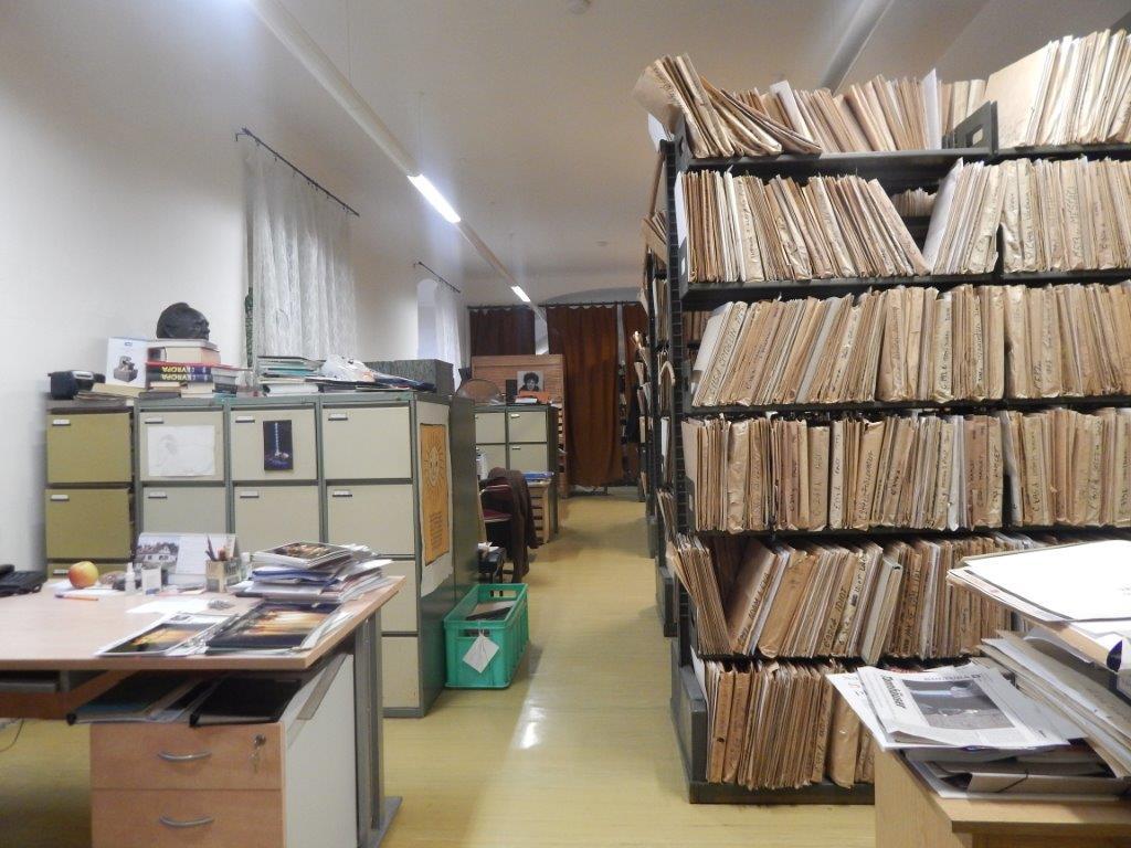 Exkurze do Archivu a Knihovny Národního divadla