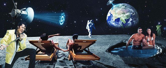 Na Měsíci už na vás čeká i Elvis!