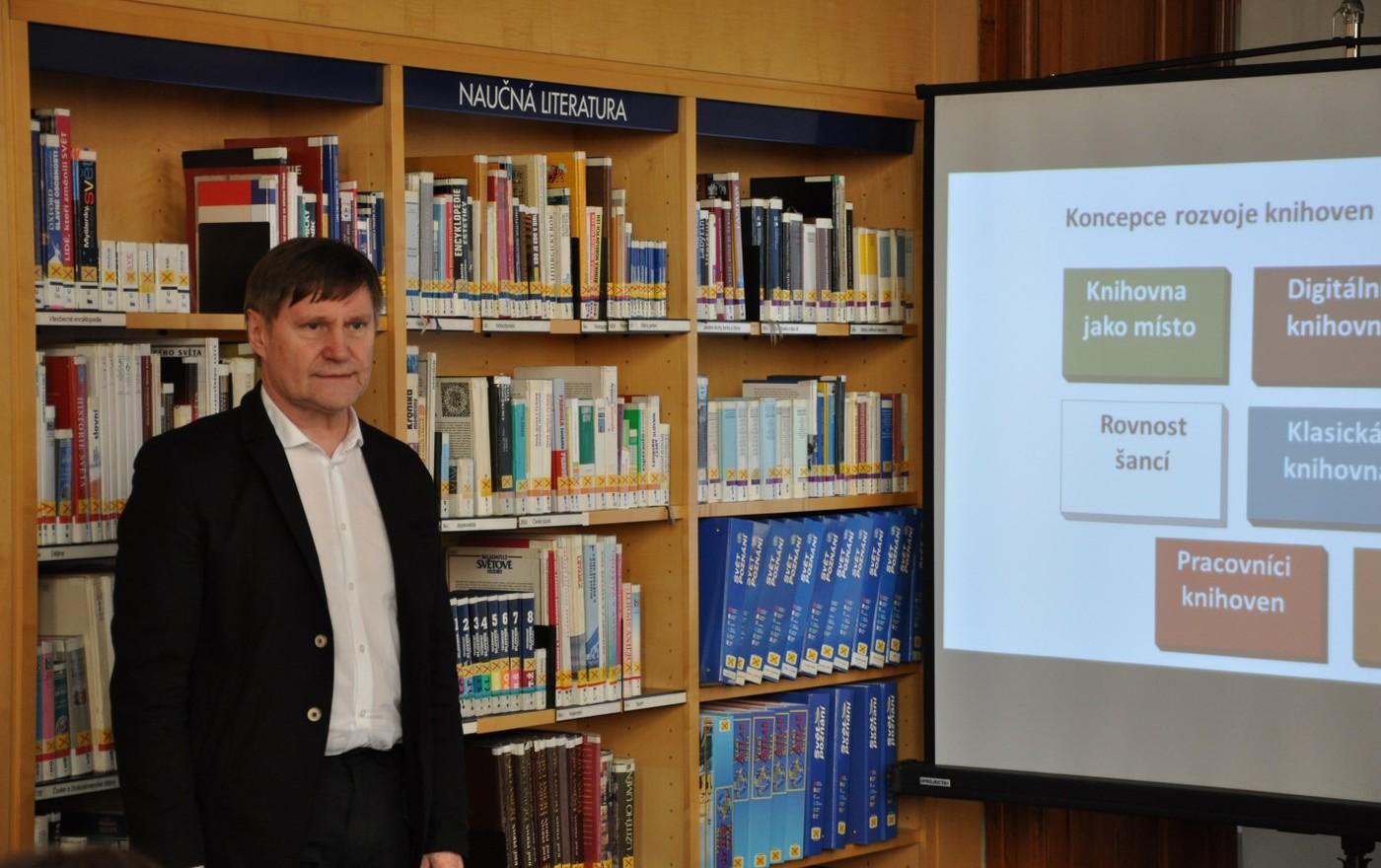 Setkání v Městské knihovně v Praze