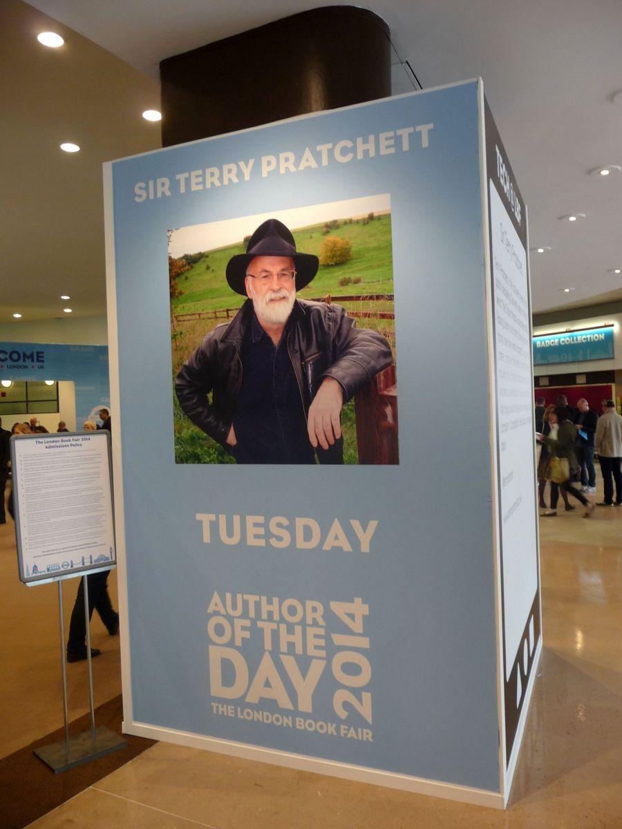 Terry Pratchett bohužel nakonec na veletrh nedorazil