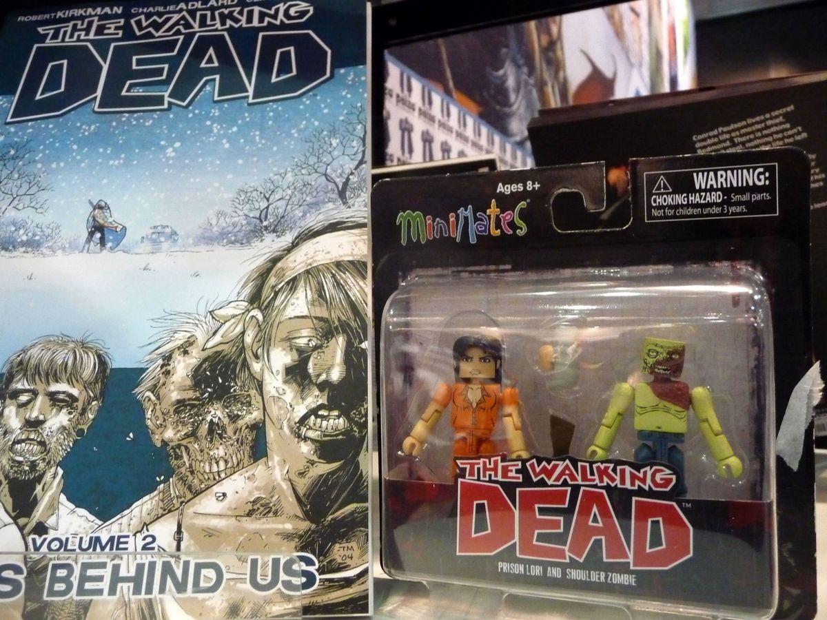 Postavičky inspirované komiksem a od něj odvozeným seriálem The Walking Dead