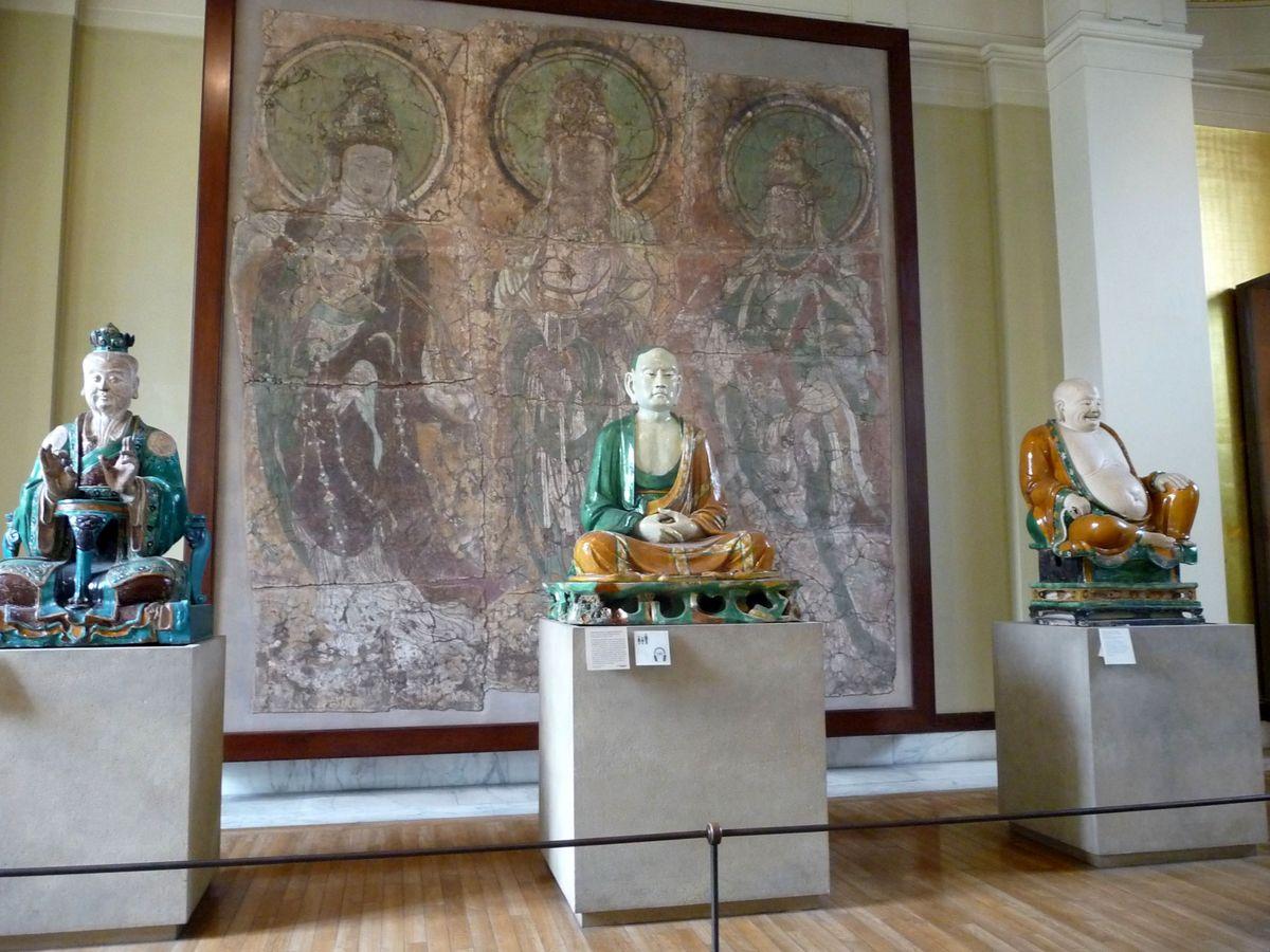 Buddhové v Britském muzeu
