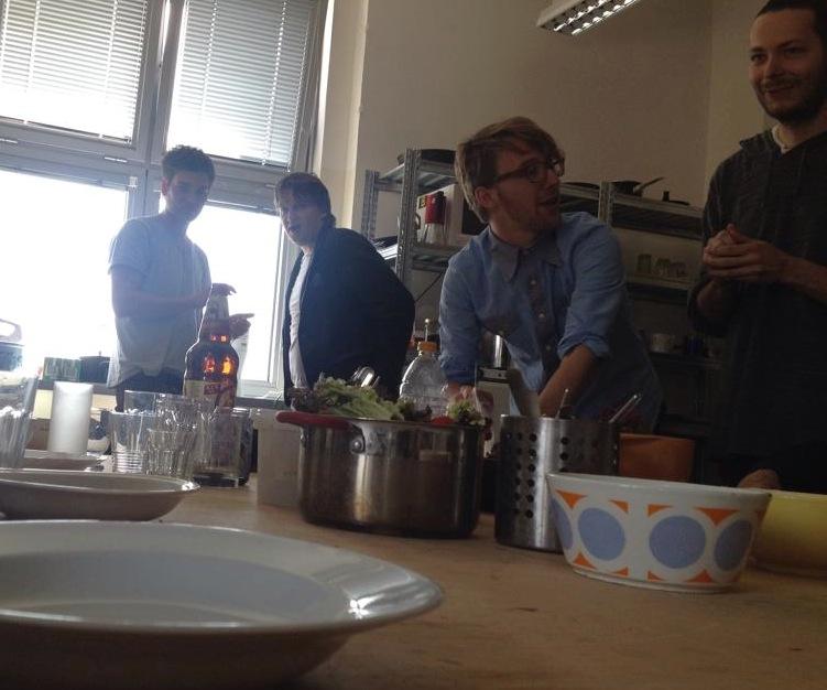 Oběd v Ateliéru interaktivních médií