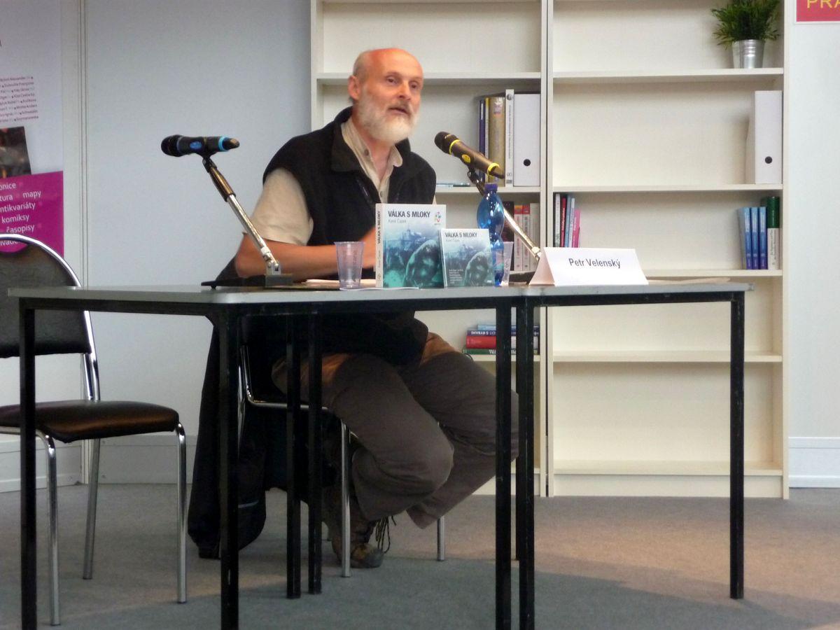 Petr Velenský a prezentace pavilonu velemloků