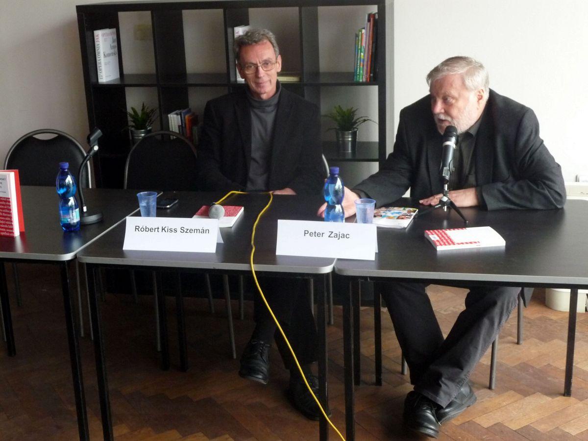 Prezentace knihy Slovanský Goethe v Pešti