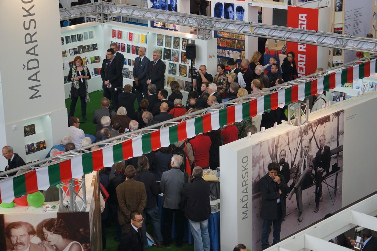 Svět knihy 2014. Maďarsko bylo letos na veletrhu ve středu zájmu