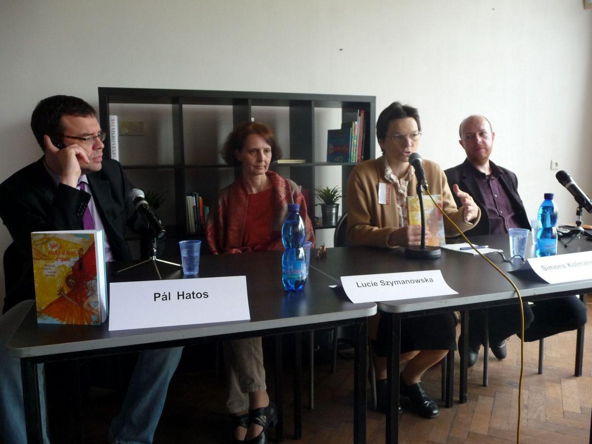 Prezentace antologie maďarské katolické literatury