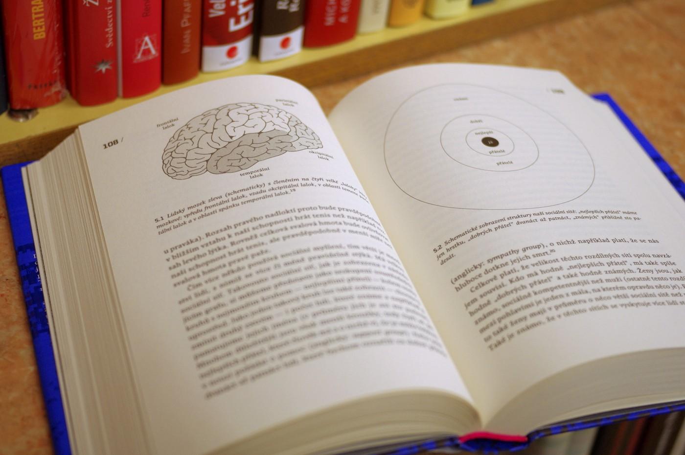 Kniha je bohatě ilustrována grafy a popisnými obrázky