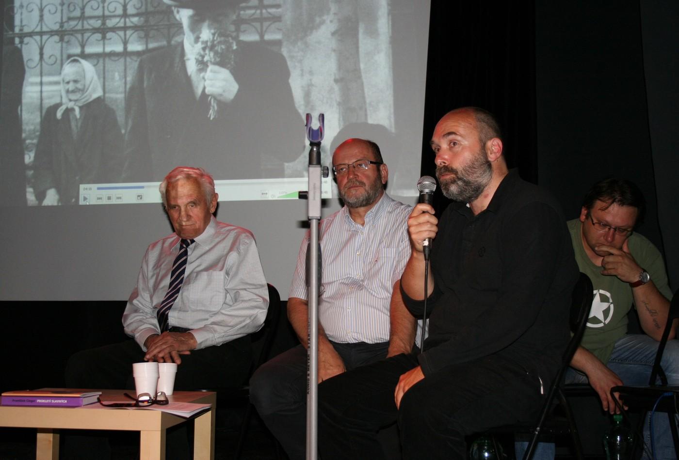Radko Pytlík a František Cinger