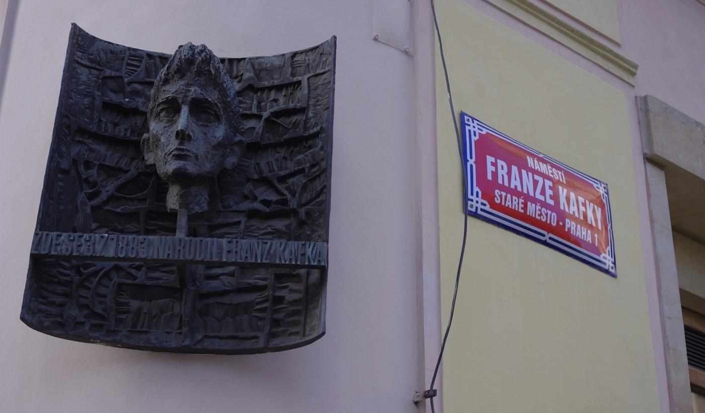 Dům, kde se narodil Franz Kafka