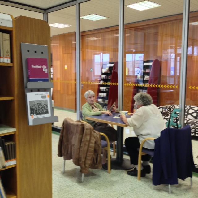 Exkurze po knihovně