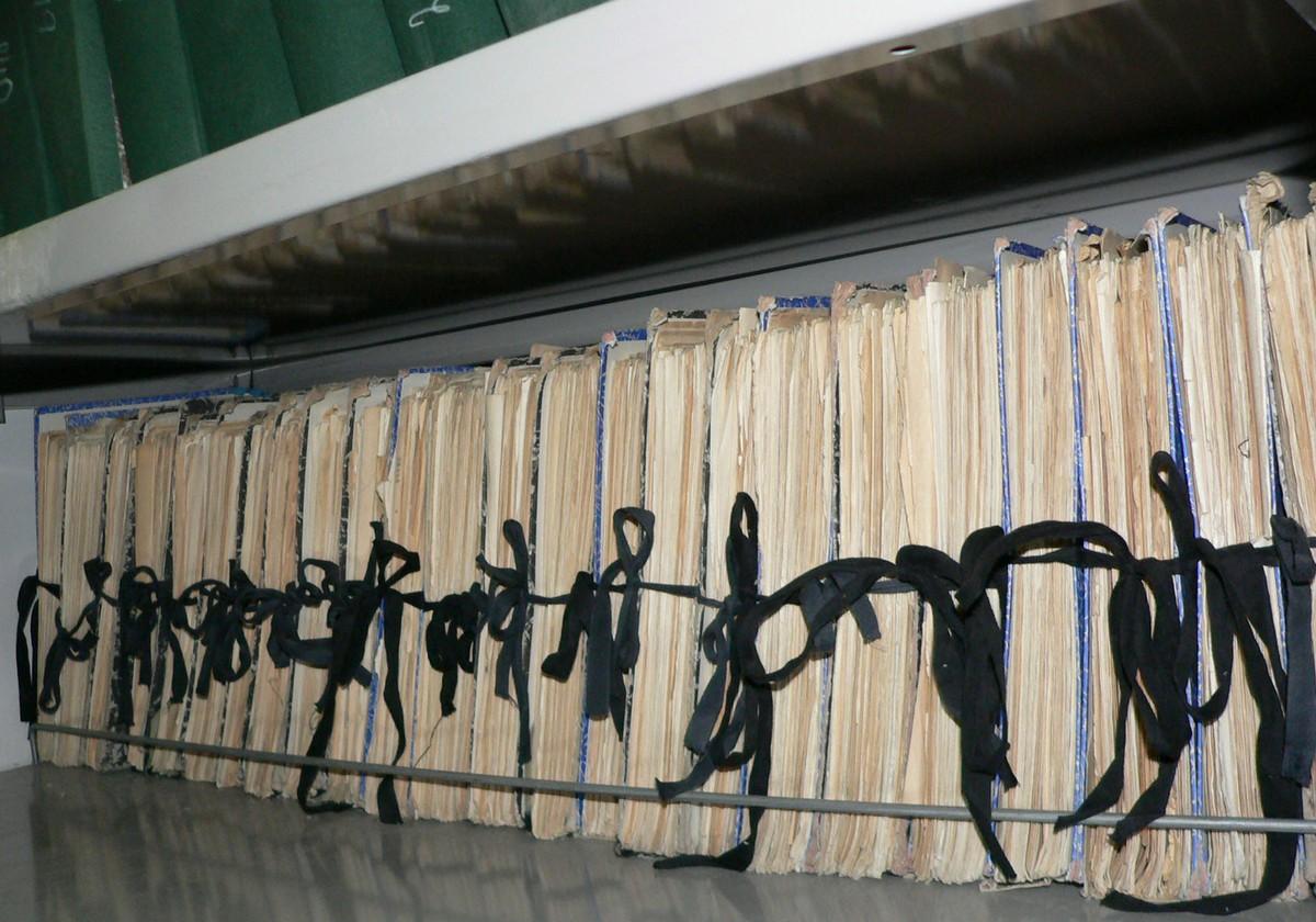 Uchovávání informací v datové podobě šetří mimo jiné fyzický prostor