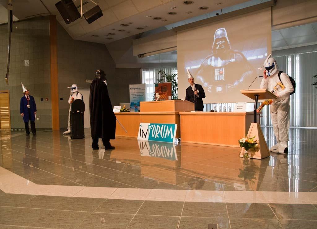 Úvod konference ve stylu Hvězdných válek