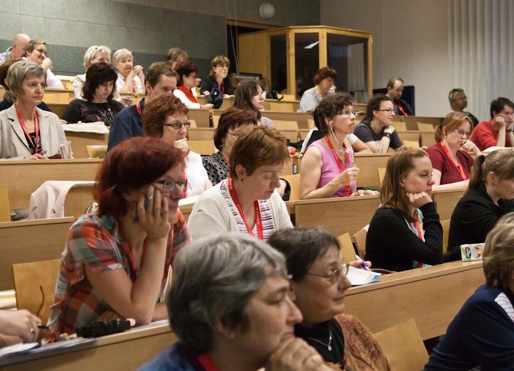 Návštěvníci konference