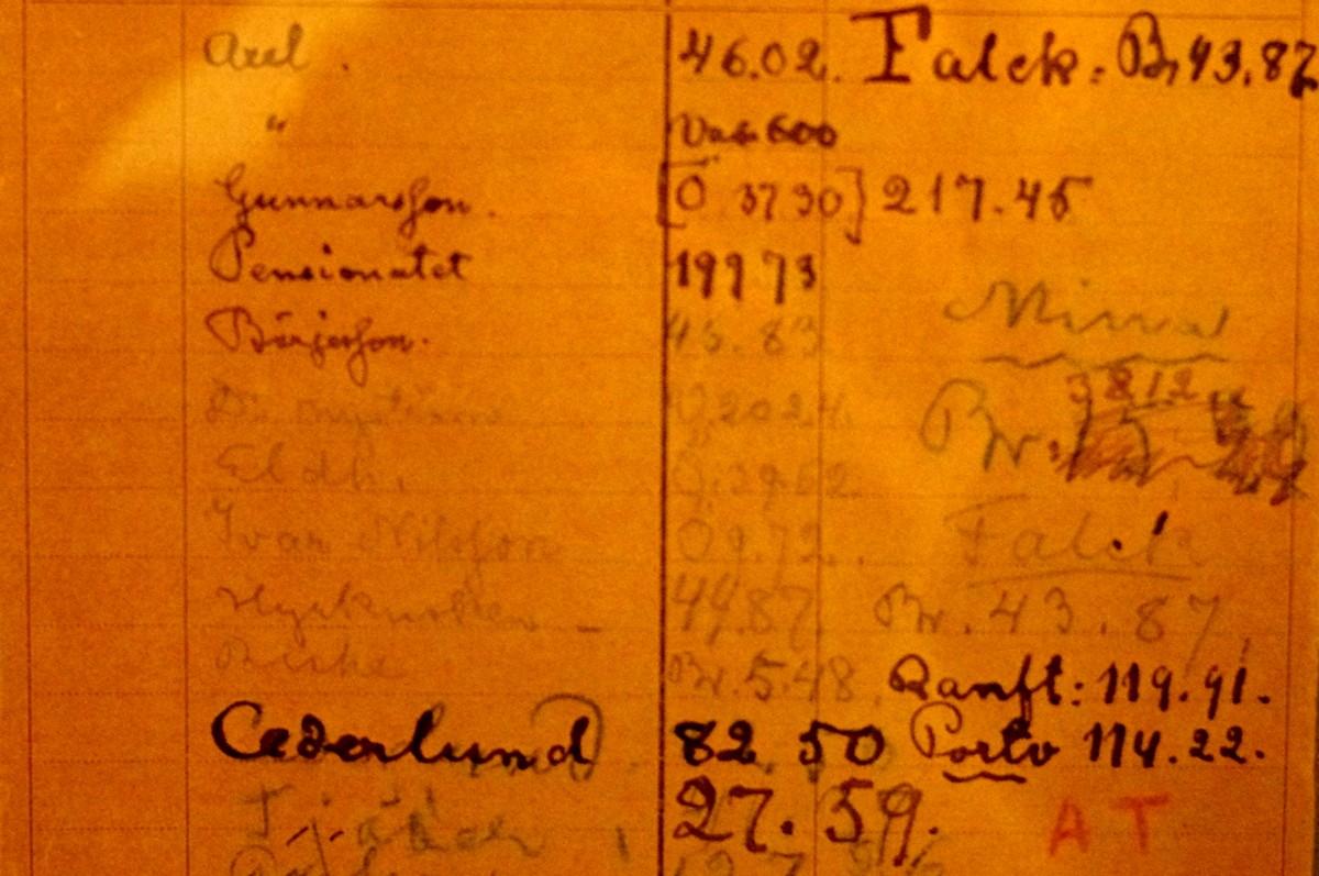 Strindbergův telefonní seznam