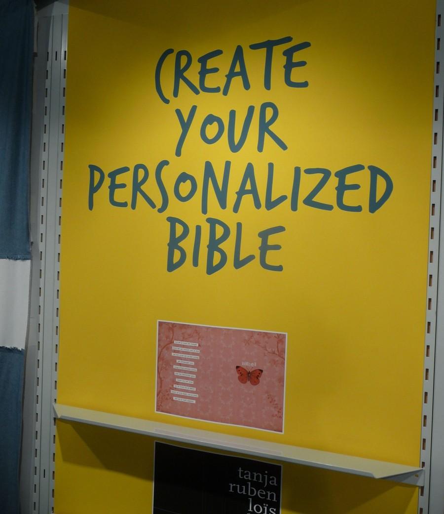 Vytvoř si svou vlastní Bibli