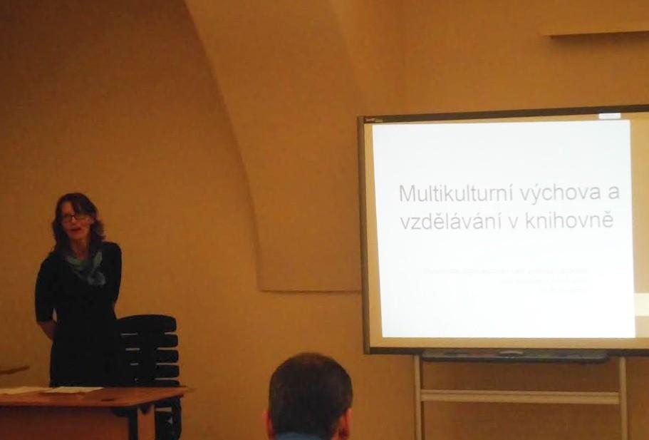 Prezentace Mileny Šírové na téma Multikulturní výchova a vzdělávání v knihovně