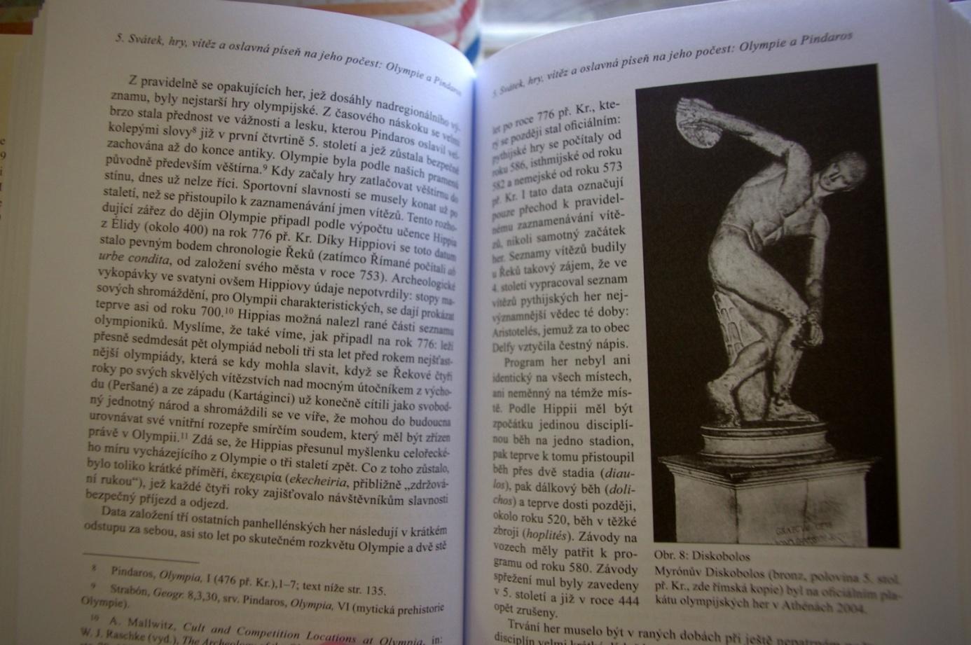 Pohled do knihy Za co vděčí dnešní Evropa Řekům?